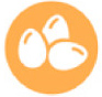 icono huevos